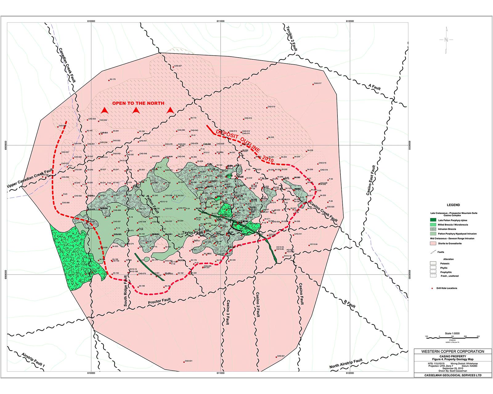 Casino Geology Map